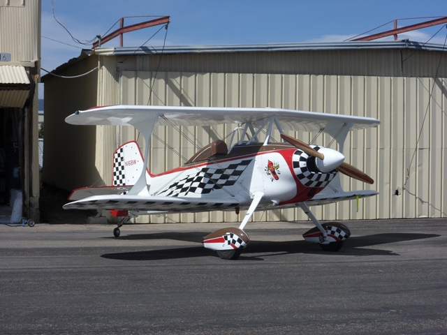 This plane was originally built by Bob White